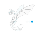 Albinie the guardian dragon by IVISEK