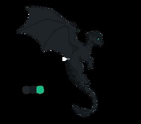 Melanius the guardian dragon by IVISEK