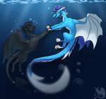 Underwater Dance by IVISEK
