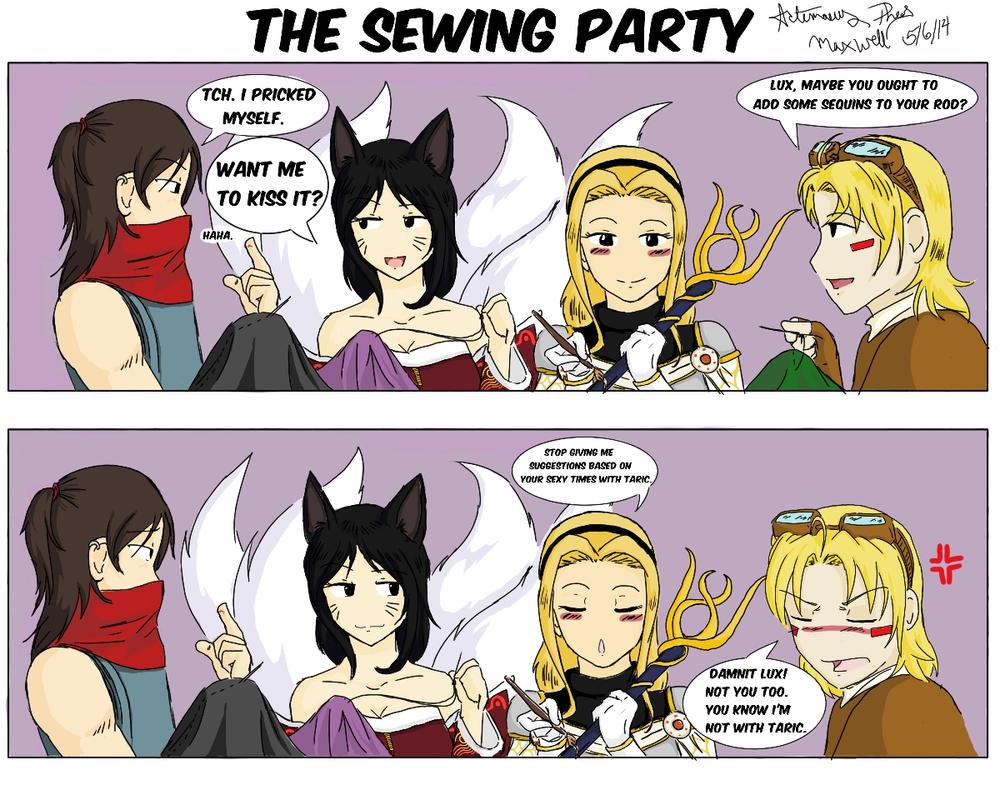 Sewingpartyfinal by Pheos