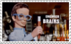 Brains stamp by DBurch01