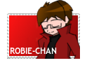 Gift art: Robie-Chan stamp by dburch01