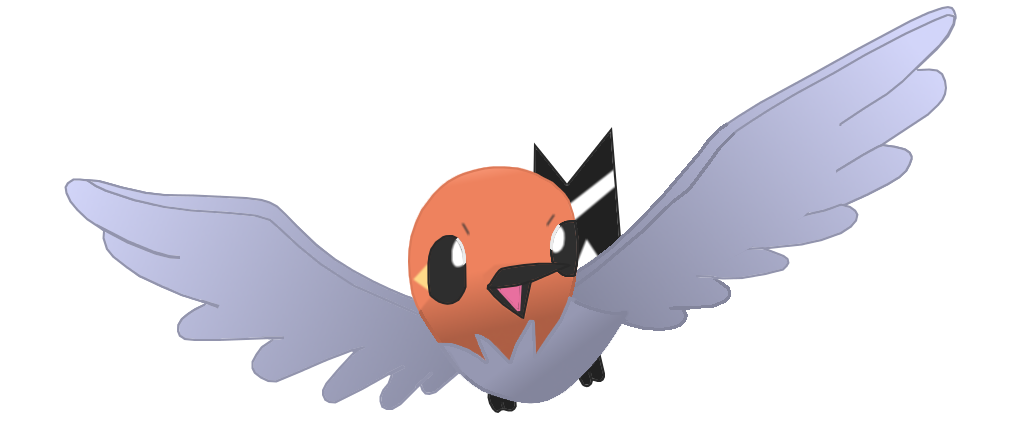 Fletchling Pokemon Drawings Images | Pokemon Images Fletchling