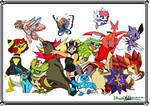 Pokemon Crystal finale groupshot