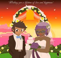 Wedding gift for Eliyora and Acharky