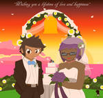 Wedding gift for Eliyora and Acharky by DBurch01