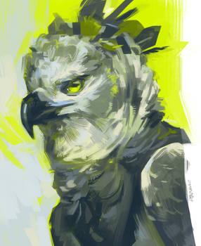 Harpy green