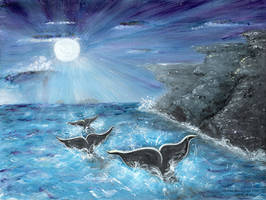 Whale's Journey Home, by Christine Mix