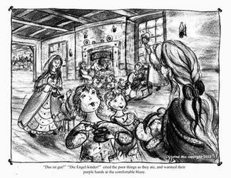 A Scene from Little Women, by Christine Mix