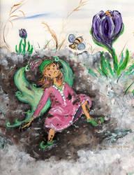 A Fairiy's Mud Season by ChrisMixArt