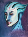 First Asari by Ellisis