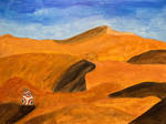 BB-8 in the desert by Ellisis