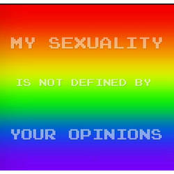 My sexuality is not defined by.... (4)