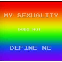 My sexuality does not define me