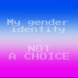 My gender identity is not a choice 1