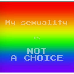 My sexuality is not a choice
