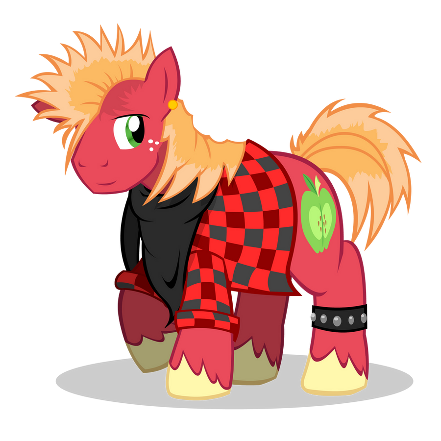 Big McIntosh costume by CartoonTiger