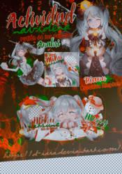 [CK] Actividad de Navidad el rufian de los regalos by D-iara
