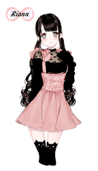 Render #38 Cute Girl - 1 by D-iara