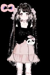 Render #39 Cute Girl - 2 by D-iara