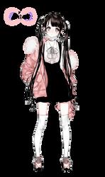Render #40 Cute Girl - 3 by D-iara