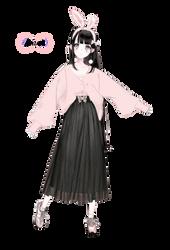 Render #41 Cute Girl - 4 by D-iara