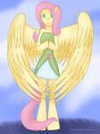 .: Fluttershy - Anthro EQ :. by ASinglePetal