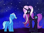 .: Trixie vs Nightmare Rarity :.