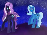 .: Trixie vs Nightmare Rarity: After match :.