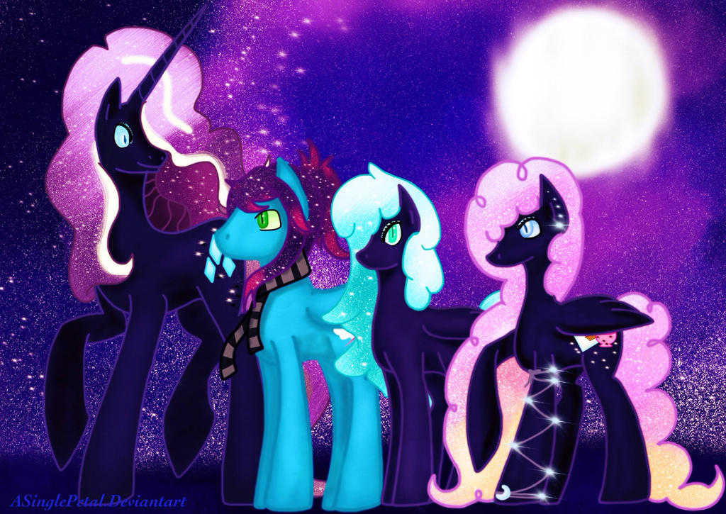 1000  images about Nightmare Ponies on Pinterest   Rainbow dash ...