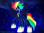 .: Nightmare Rainbow Dash - Zap:.