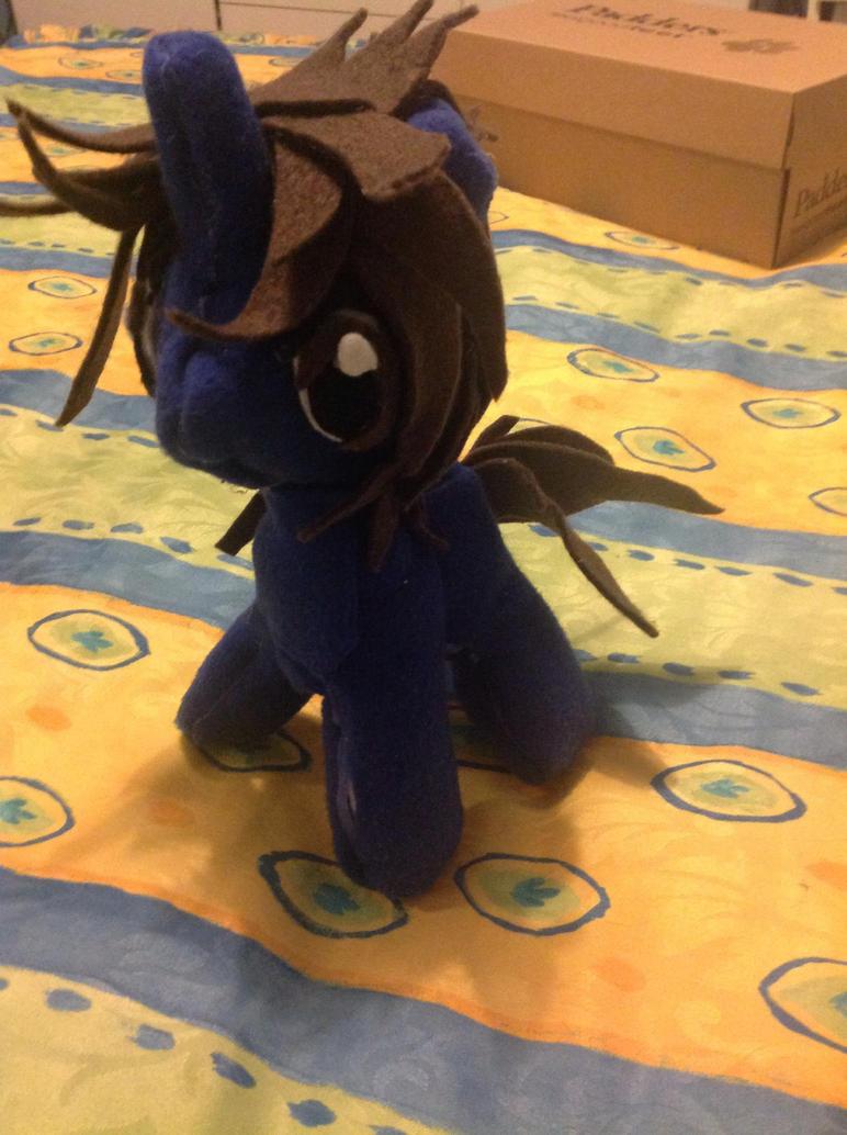 .: Danny Avidan unicorn plushie :. by ASinglePetal