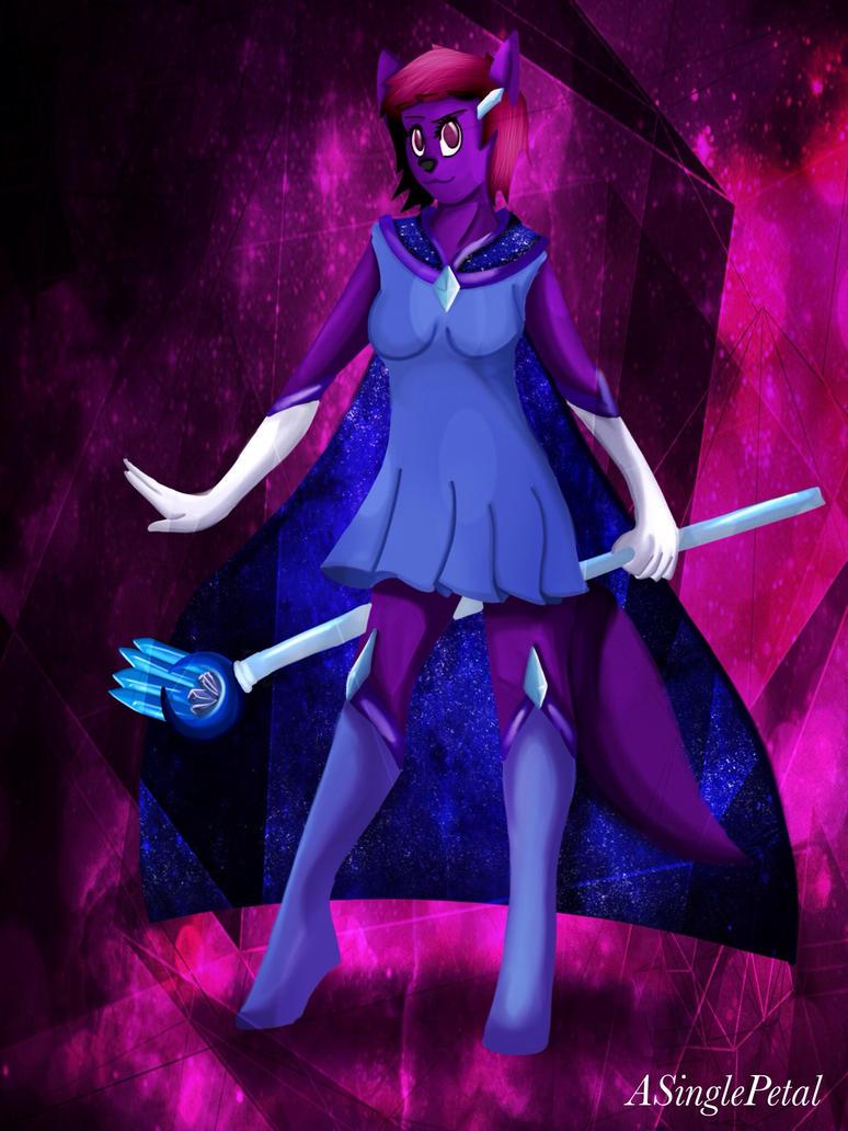 .:  Magical Girl - my Fursona :. by ASinglePetal