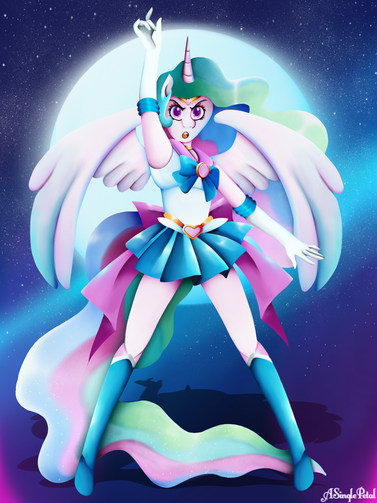 Sailor celestia by ASinglePetal on DeviantArt