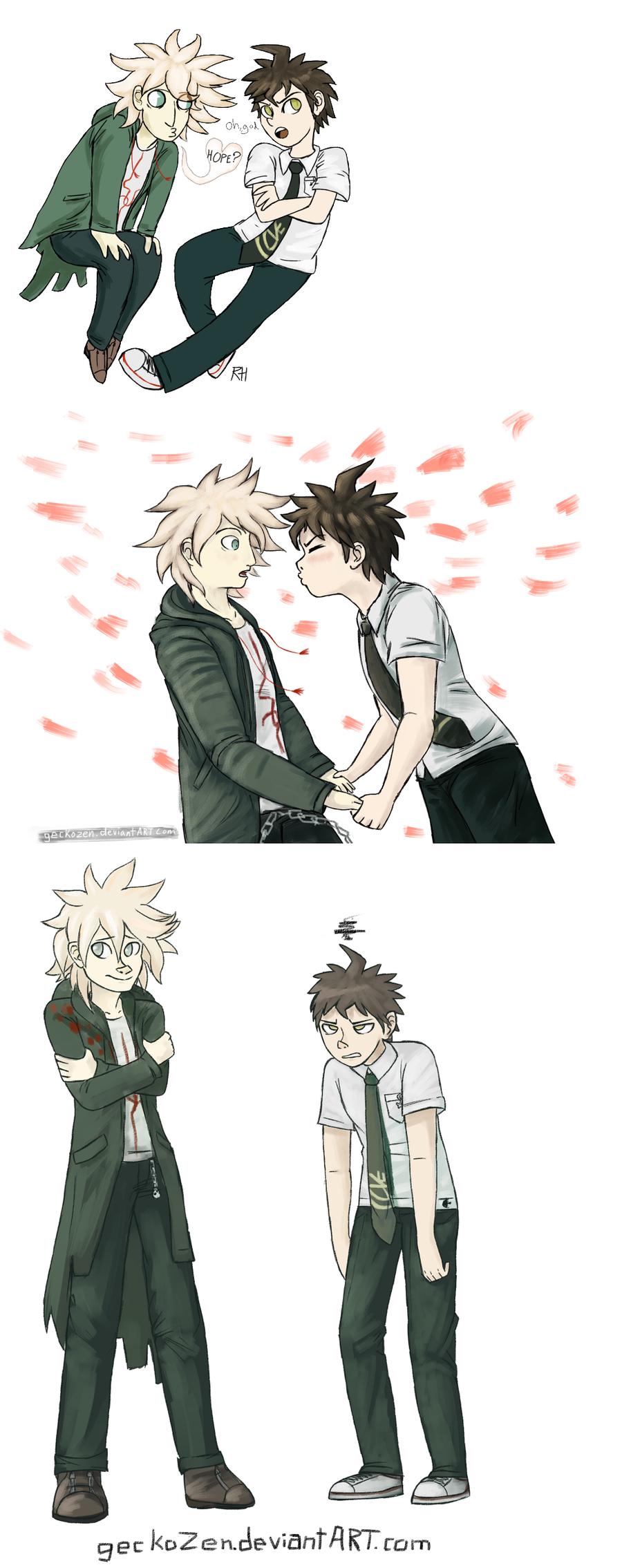 blushing meme
