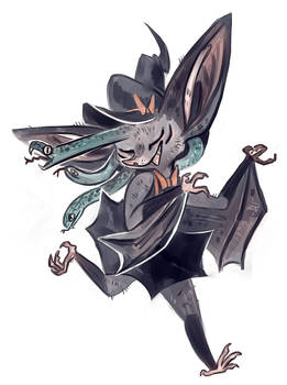Micky 'bat gorgon' Concept