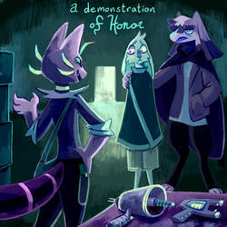 28. A demonstration of honor by geckoZen