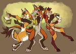 Fox, Drox, and Deggy (COMM)