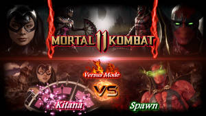 Kitana vs Spawn