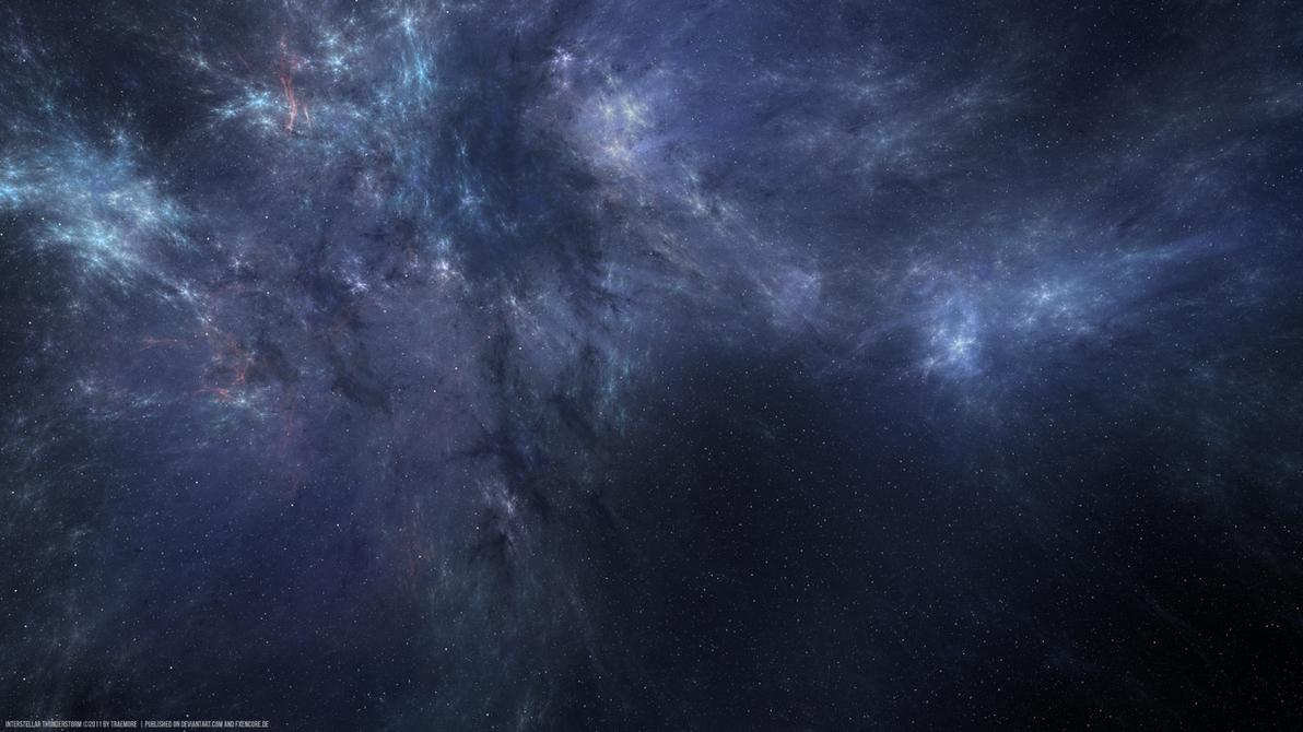 Interstellar thunderstorm by TRAEMORE