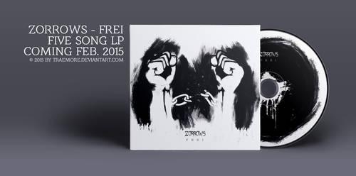 Zorrows - Frei LP Design by TRAEMORE