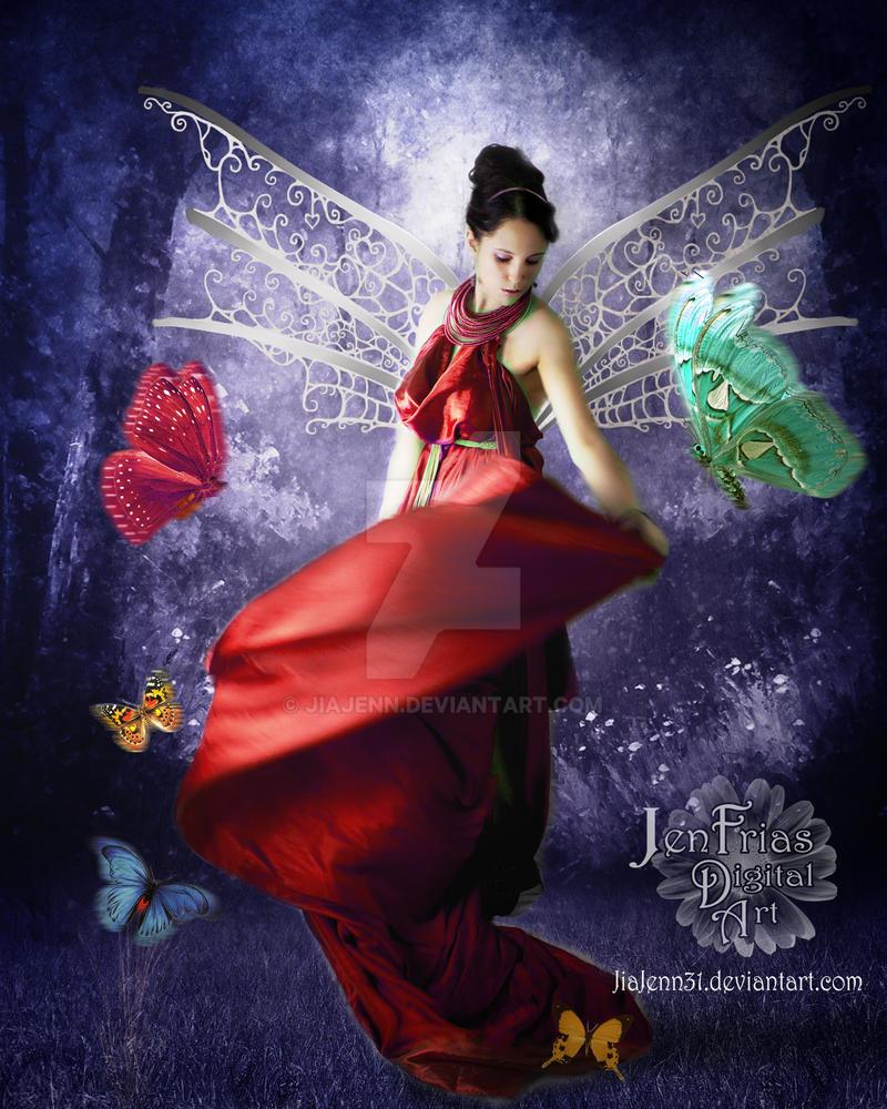 Butterflies's Queen by jiajenn