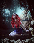 Red head fairy