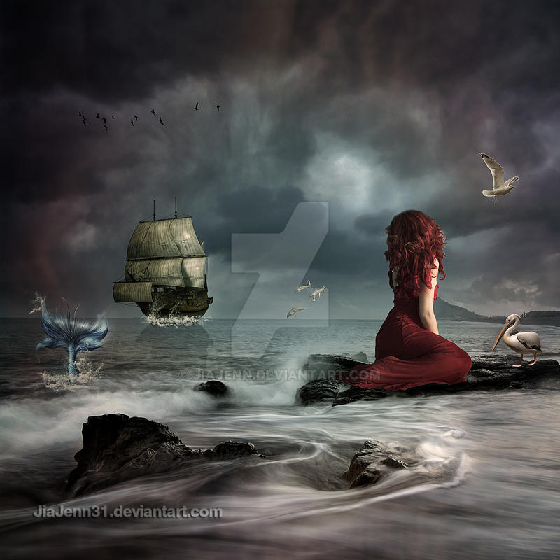 Mermaid Fantasy by jiajenn