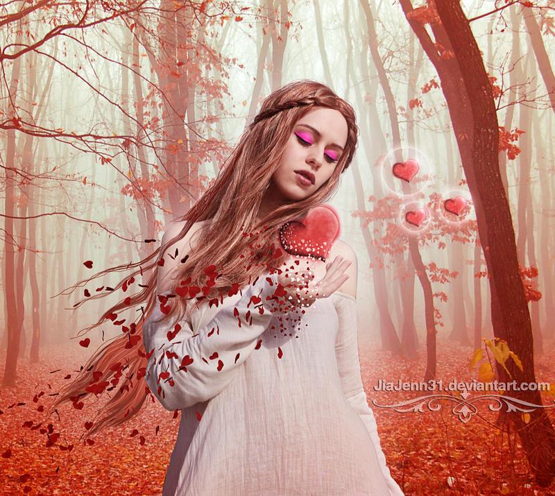 White Heart by jiajenn