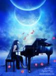 Piano at cosmos