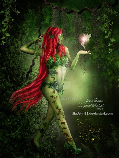 Mystery Poison Ivy by JiaJenn31