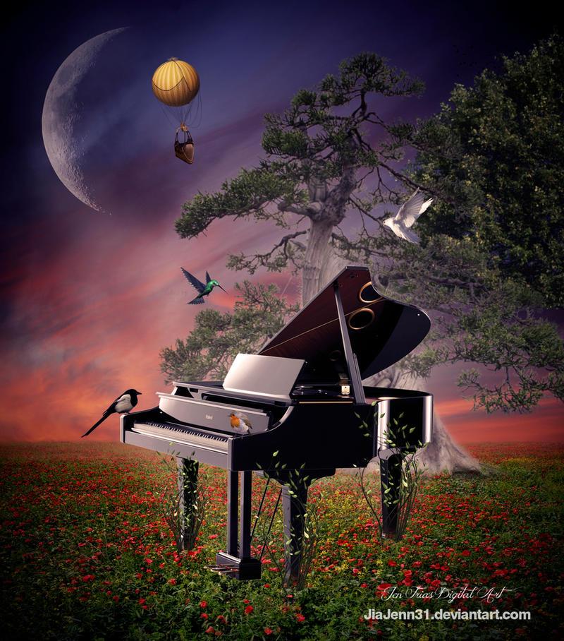 Piano by JiaJenn31