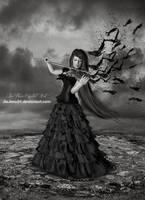 Dark Violin by jiajenn