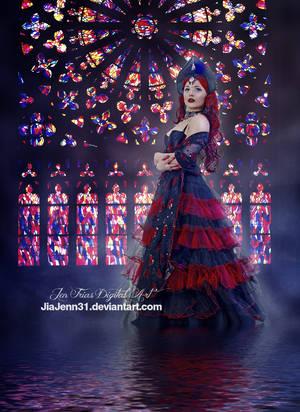 Goth princess by jiajenn